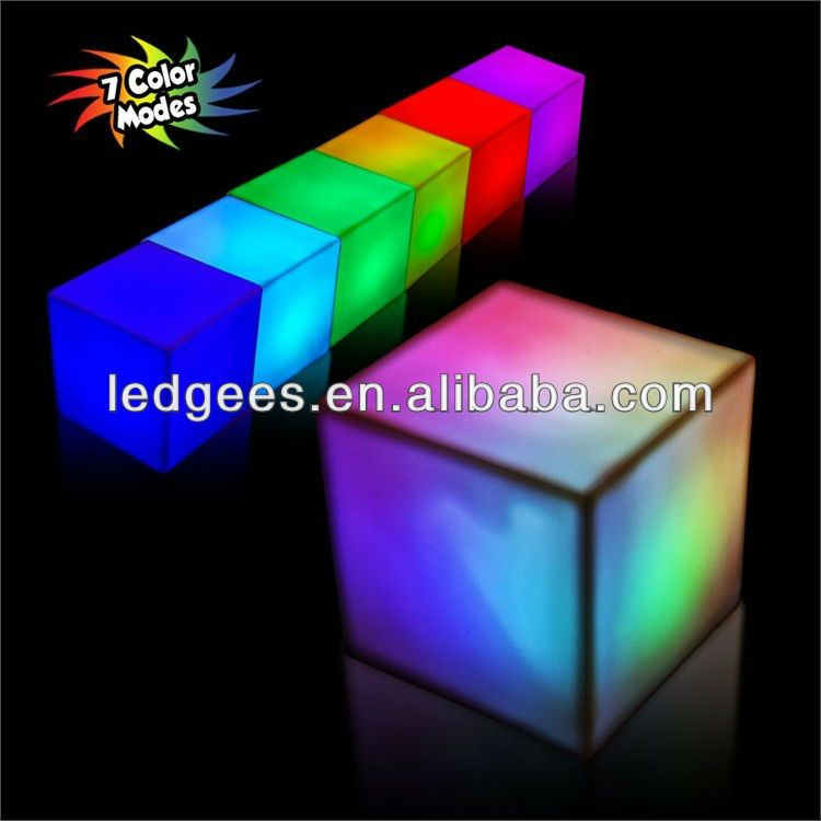 2013 Glowing LED Wholesale Party Supplies with 16 Color Changing and Remote! also for Events and Club Decor $21~$99
