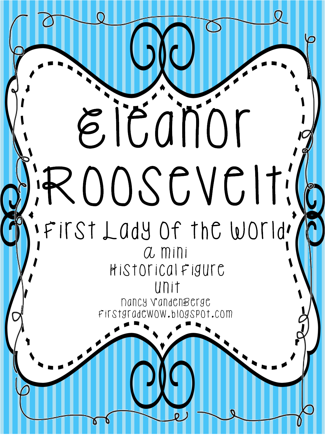 Eleanor Roosevelt First Grade Worksheets Eleanor Best