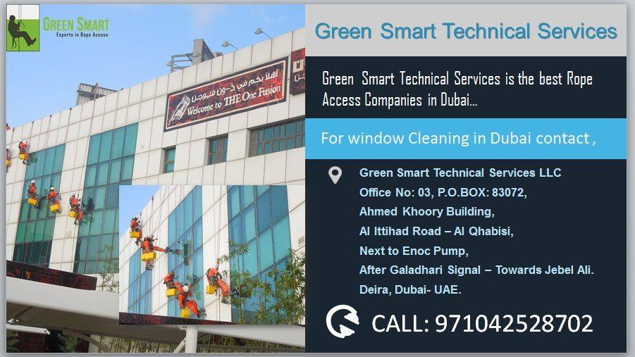 Green smart technical services is the best Rope access companies in