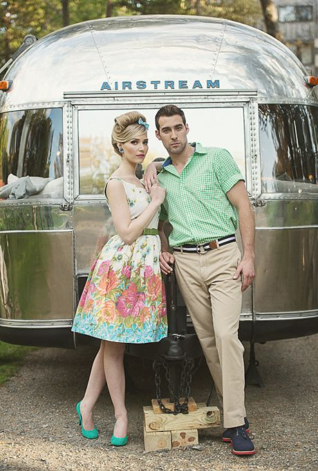 A 1950s Inspired Styled Wedding Shoot