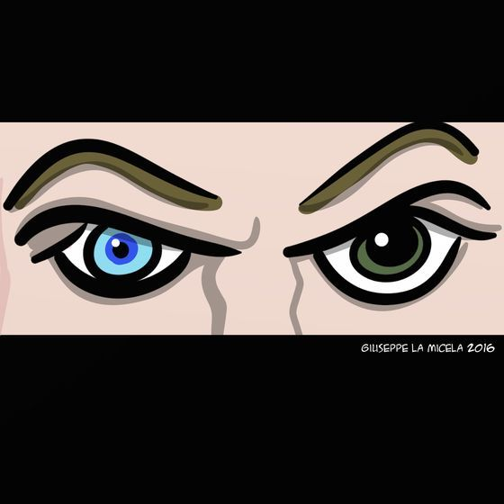 Giuseppe La Micela (2016-01-11)  David bowie (1947-2016)  That eyes