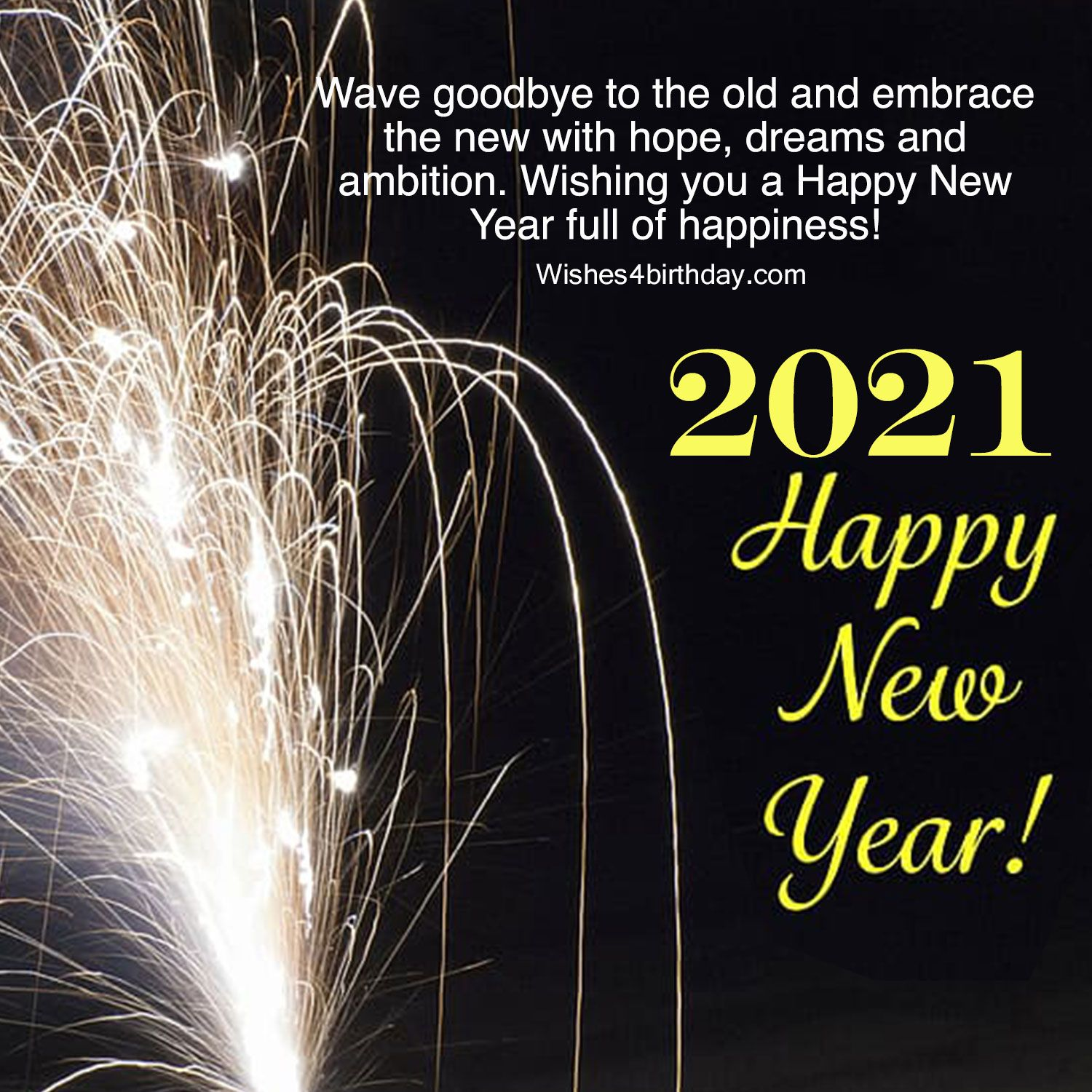 Beautiful And Amazing Happy New Year 2021 Photo With Countdown Happy New Year Message Happy New Year Pictures Happy New Year Wishes