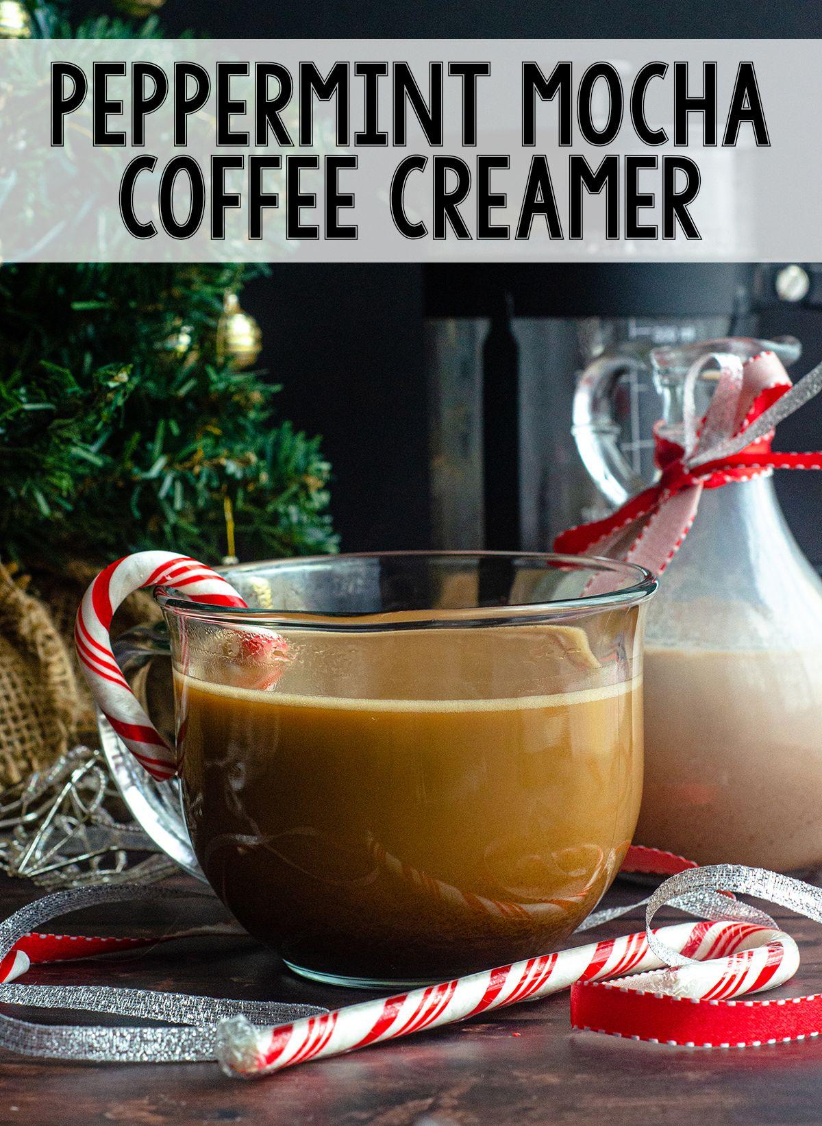 Peppermint Mocha Coffee Creamer Recipe in 2020 Coffee