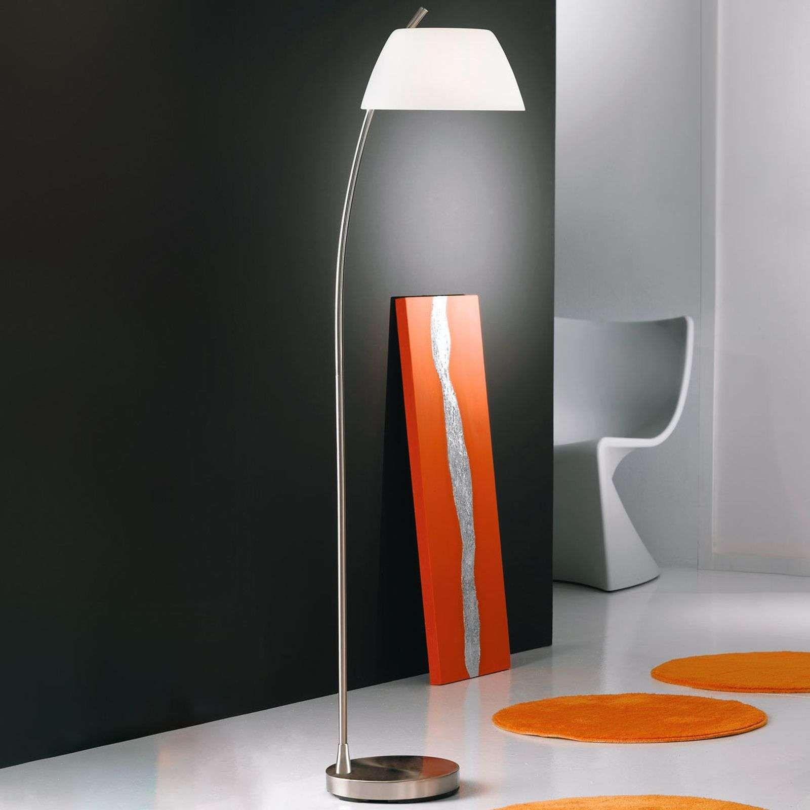 Moderne Stehlampe Malmo Von Kolarz Weiss Stehlampe Retro Led