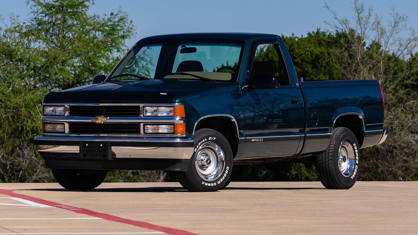 1995 Chevrolet Ck1500 Pickup T125 Houston 2019 Chevrolet Mecum Obs Truck