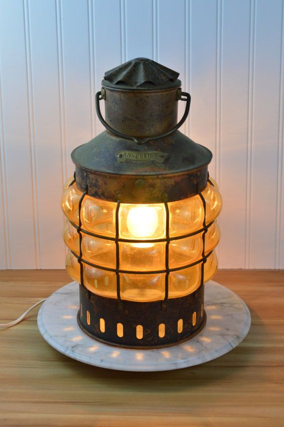 Vintage Dutch Ankerlicht Nautical Light Nautical Lighting Vintage Coastal Interiors Design