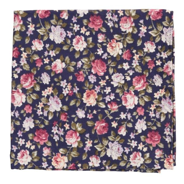 The Tie Bar Moody Florals #pocketsquares