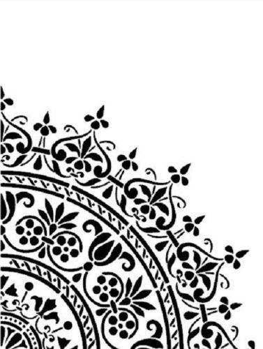 Shabby Chic Vintage Stencil Schablone Frankreich Mobel Wand Textil Gardinen Schablone Designs Kostenlose Schablonen Marokkanische Schablonen