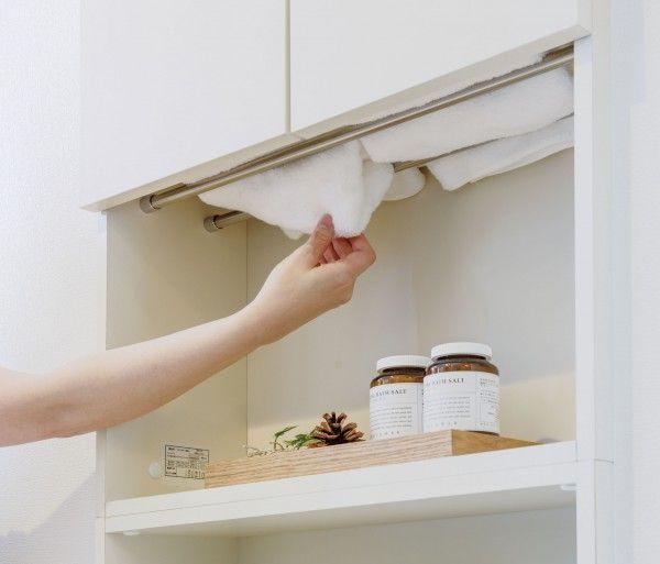 脱衣室 洗濯機置き場の収納 絶対作っておきたい造り付け家具ベスト5