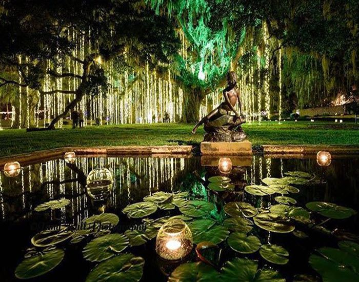 It is a magical time at Brookgreen Gardens in Murrells Inlet, SC!  Nights of A Thousand Candles is something everyone should experience!  (Click on the pin for more info and other things to do in the Myrtle Beach, South Carolina area - Photo via Instagram by@tami_kull_photography)