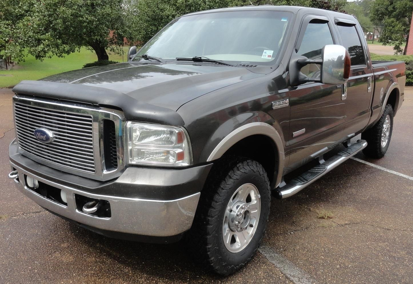 awesome amazing 2006 ford f 250 lariat chrome pkg backup camera nav adj pedals keyless [ 1445 x 993 Pixel ]