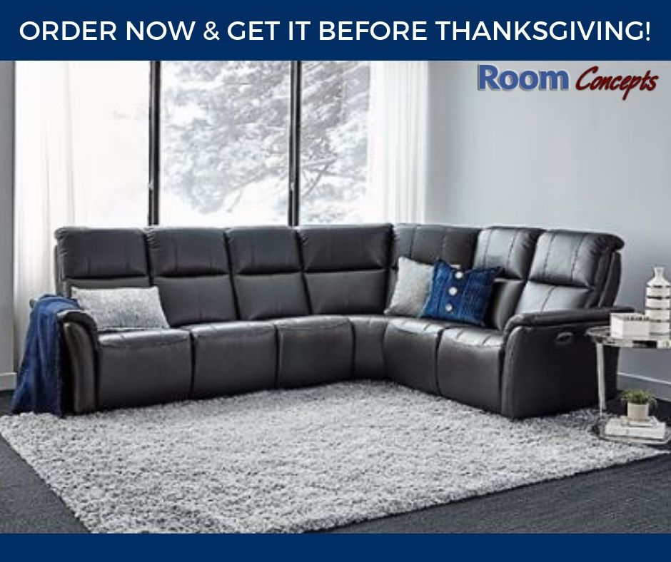 The Amelia Sectional By Elran Is North American Made In Canada It Has A Flared Arm And Comes With Power Recliners And Pow Sectional Furniture Upholstery Room