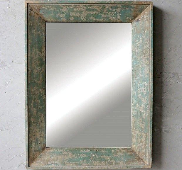 HUGE Rustic Wood Framed Mirror | More of PATTY\'S favorite things ...