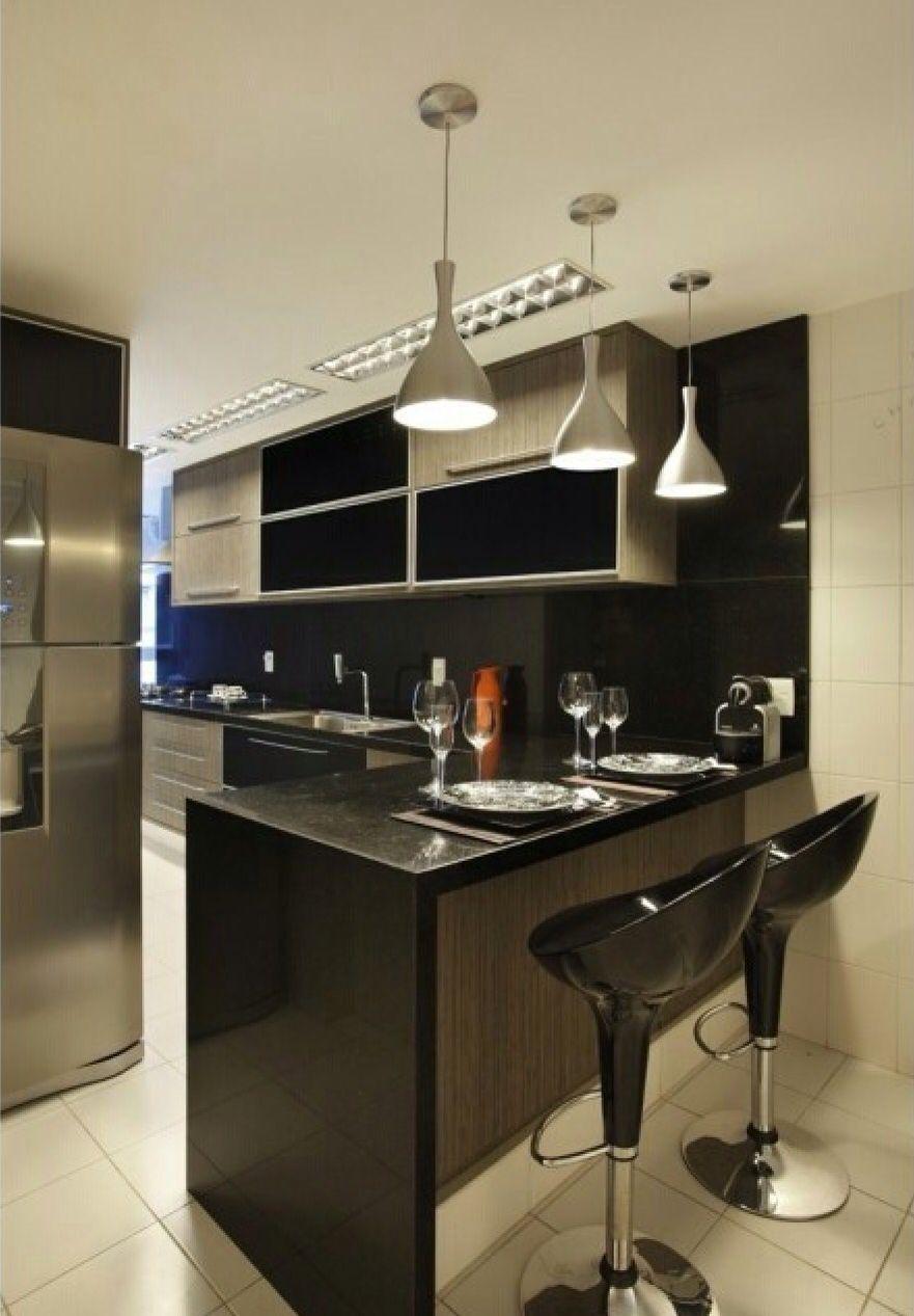 Bancada bonita! @decorandocomclasse   Kitchens   Pinterest