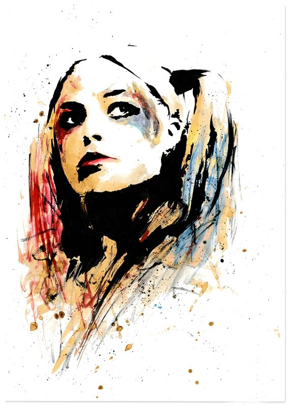 Harley quinn on pinterest jokers margot robbie xxx
