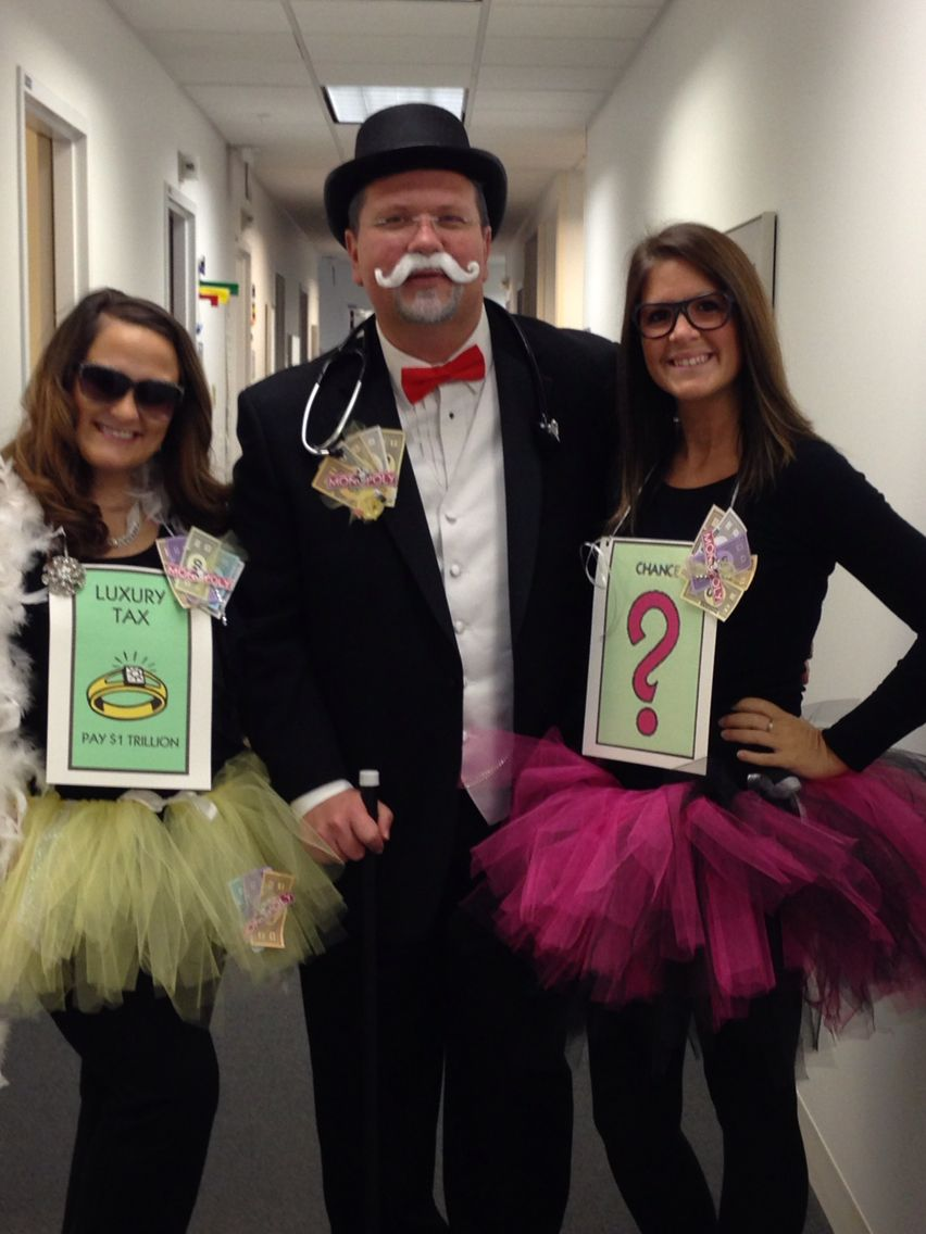 monopoly halloween costumes uncle pennybags luxury tax and chance halloween costume monopoly tutus