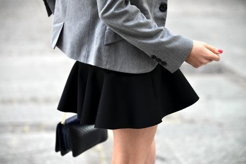Grey and black simplicity.