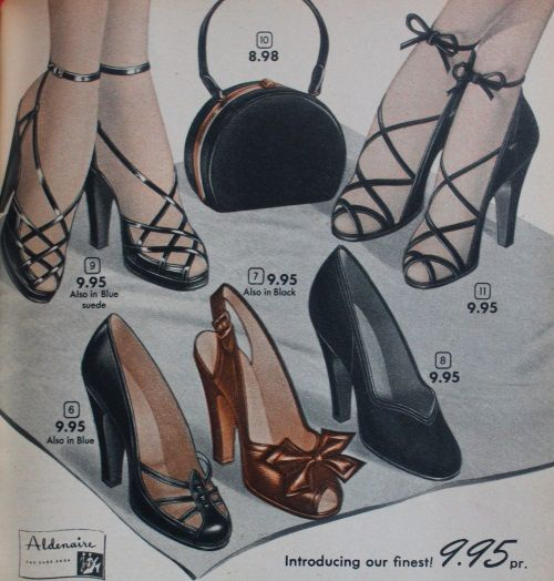 più recente 0223f 67206 1950s Shoe Styles- History and Shopping Guide | Cataloghi ...