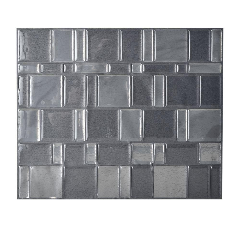 Decorative Tiles For Backsplash Smart Tiles 1155 Inx 964 Inpeel And Stick Mosaic Decorative