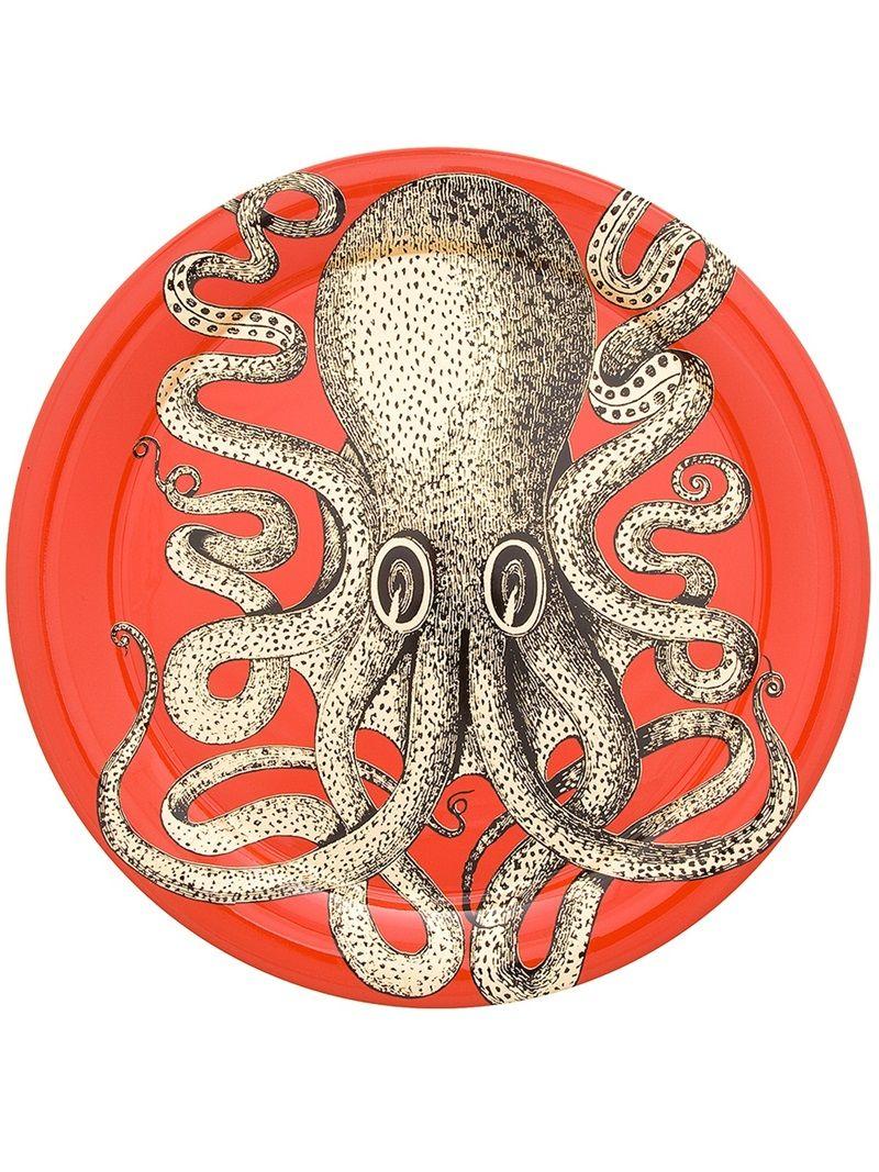 Fornasetti Art Prints Fornasetti Octopus Print Plate Fornasetti Plates Pinterest