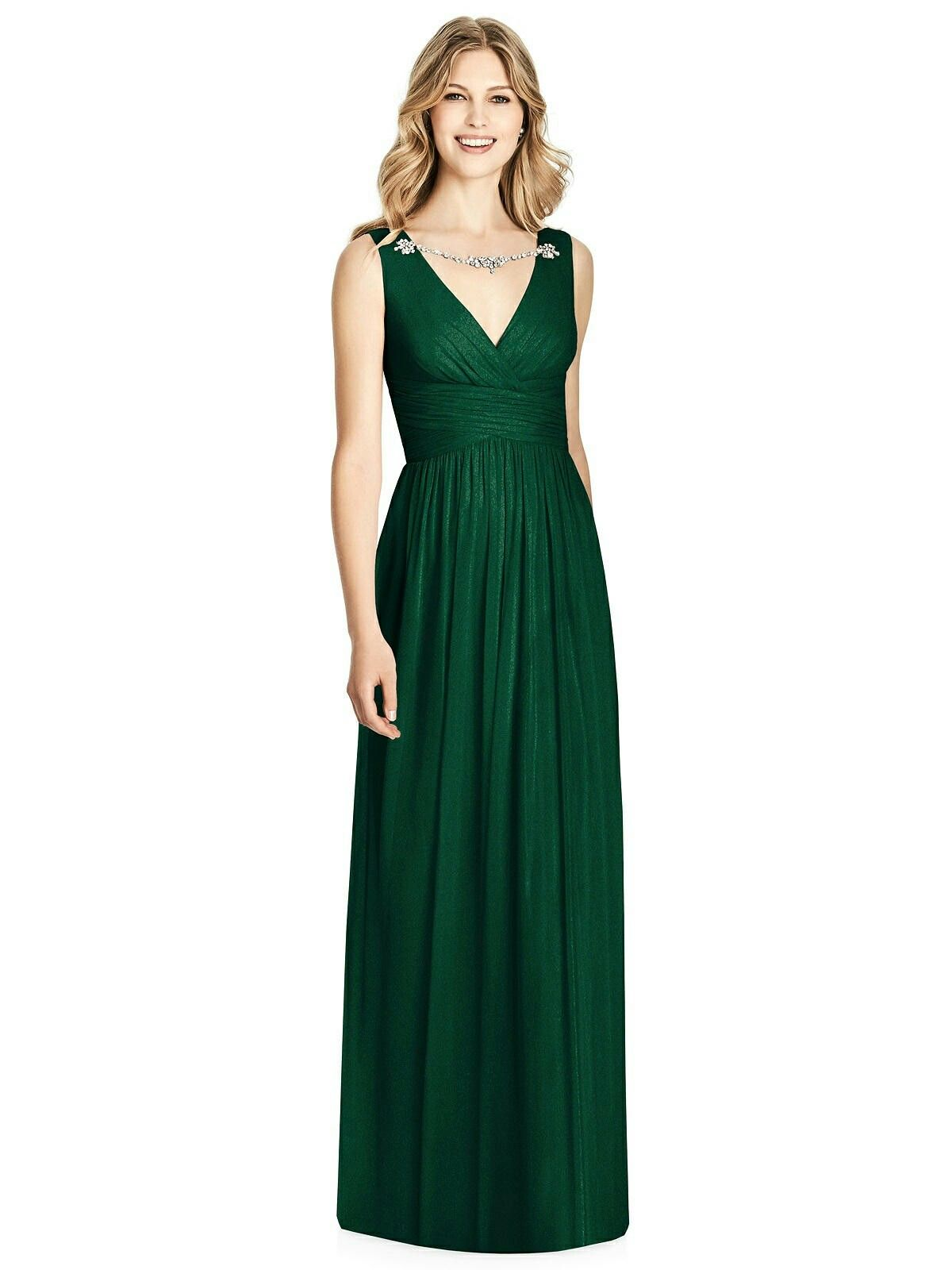 Fashion week Green Hunter dessy bridesmaid dresses pictures for woman
