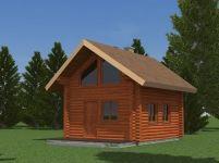 Drvena kuća model Ardom 48
