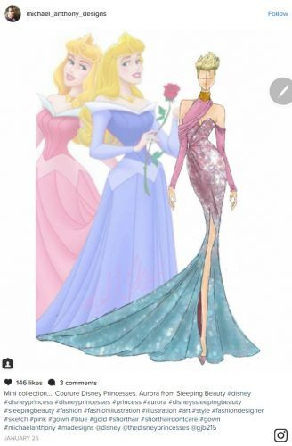 Michael Anthony Designs Debuts a Couture Collection on Instagram