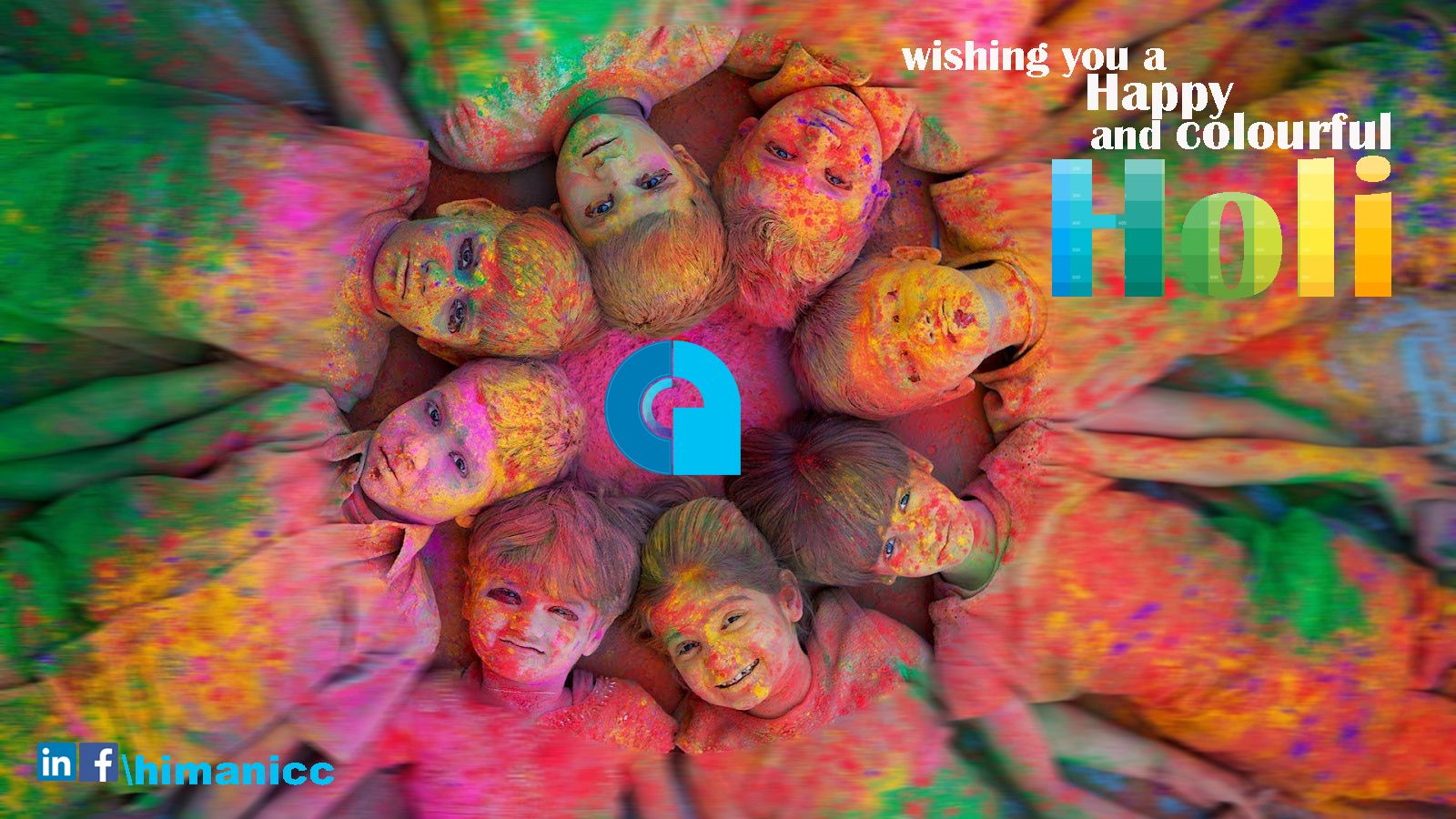 Wishing u and your family a Happy & Colourful HOLI. | Greeting ...