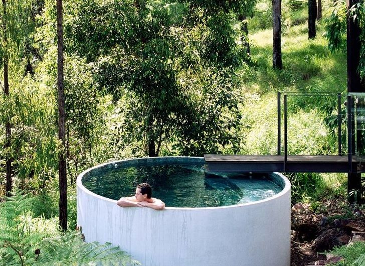 concrete pipe can be used in plunging or soaking pools in landscaped gardens see. Black Bedroom Furniture Sets. Home Design Ideas