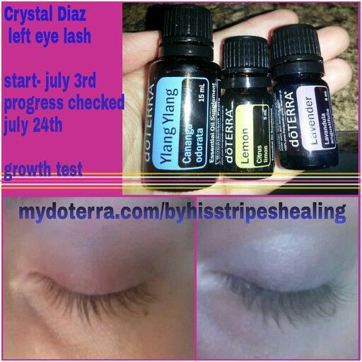 a6d768a81e8 DoTERRA eyelash growth! All I did was make a roller bottle with equal parts  of the 3 EO's and applied 2xs a day. I even forget some days!