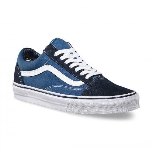 2vans mujer old skool azul