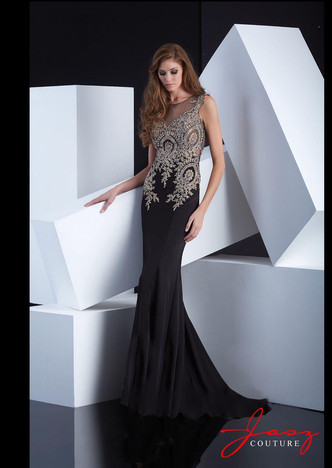 Love black lace dress low back jasz couture pinterest black