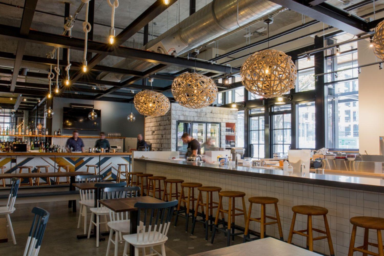 Bar Harbor | South lake union, Seattle restaurants, Lake union