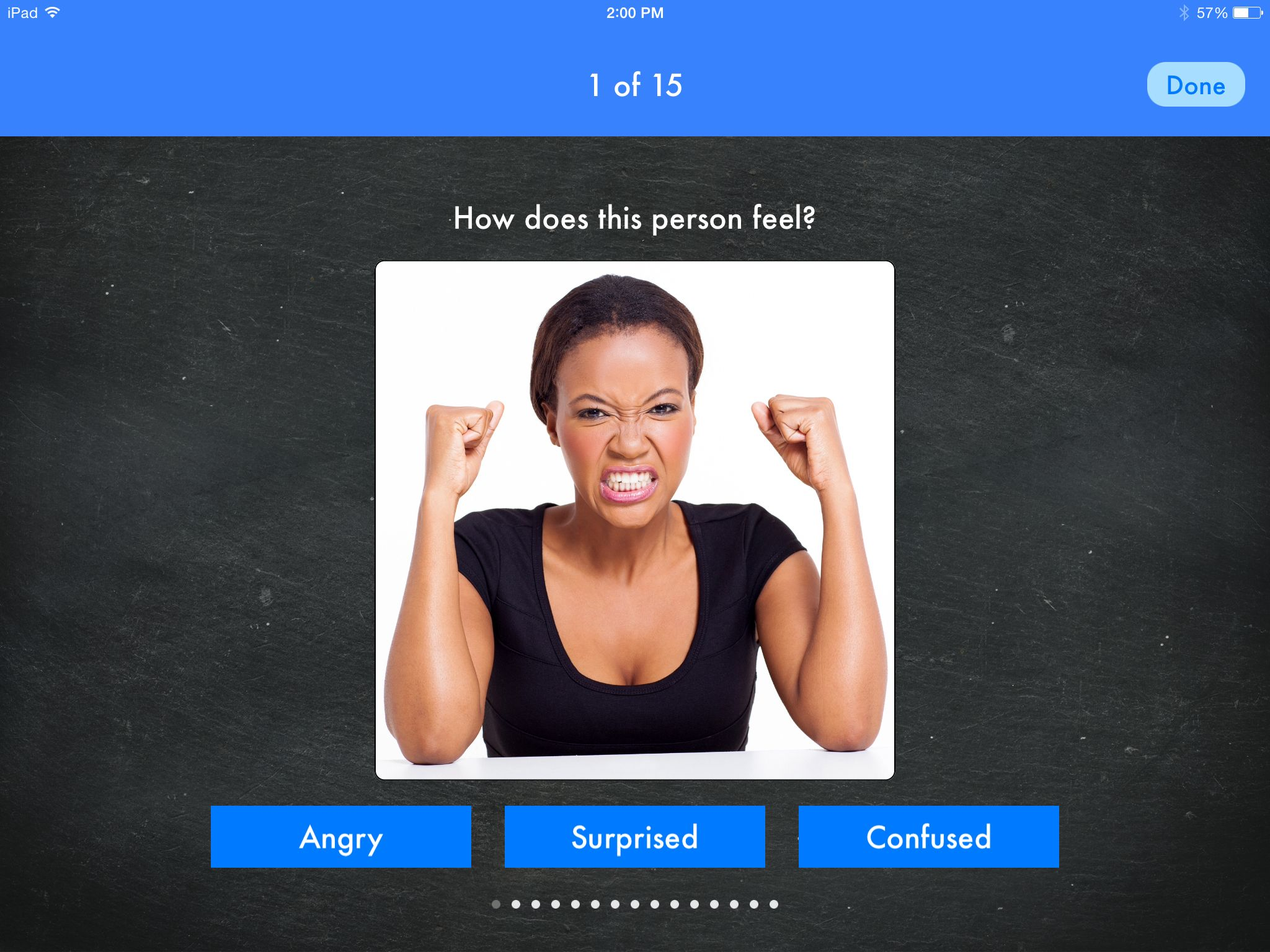Work On Recognizing Feelings With Lets Learn Emotions