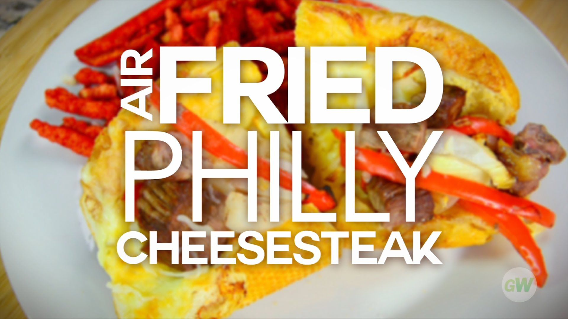 Air Fried Philly Cheese steak recipe. Use this Air Fryer