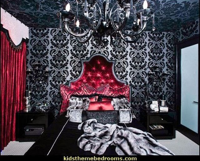 gothic bedroom sexy bedroom pinterest. Black Bedroom Furniture Sets. Home Design Ideas