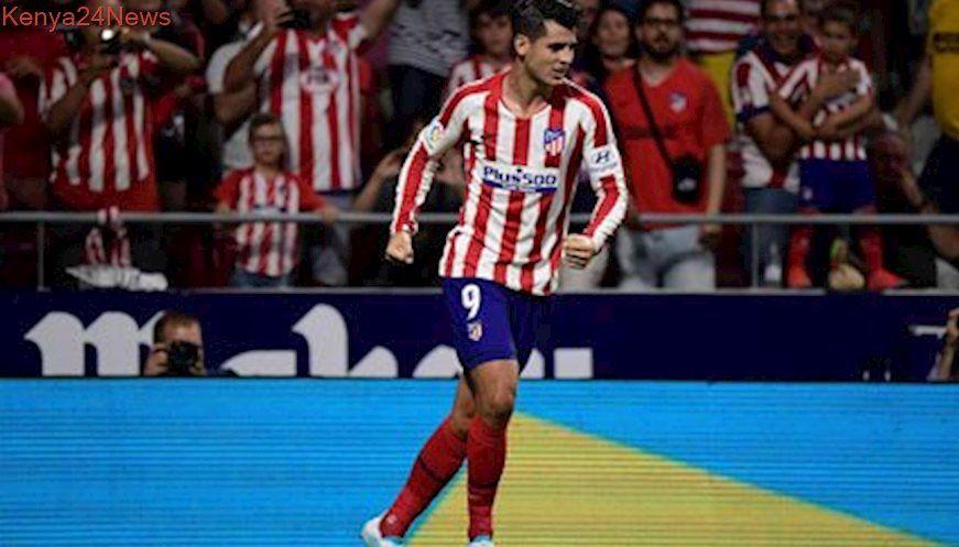 Morata Sends Atletico Past Stubborn Getafe Stubborn La Liga Antoine Griezmann