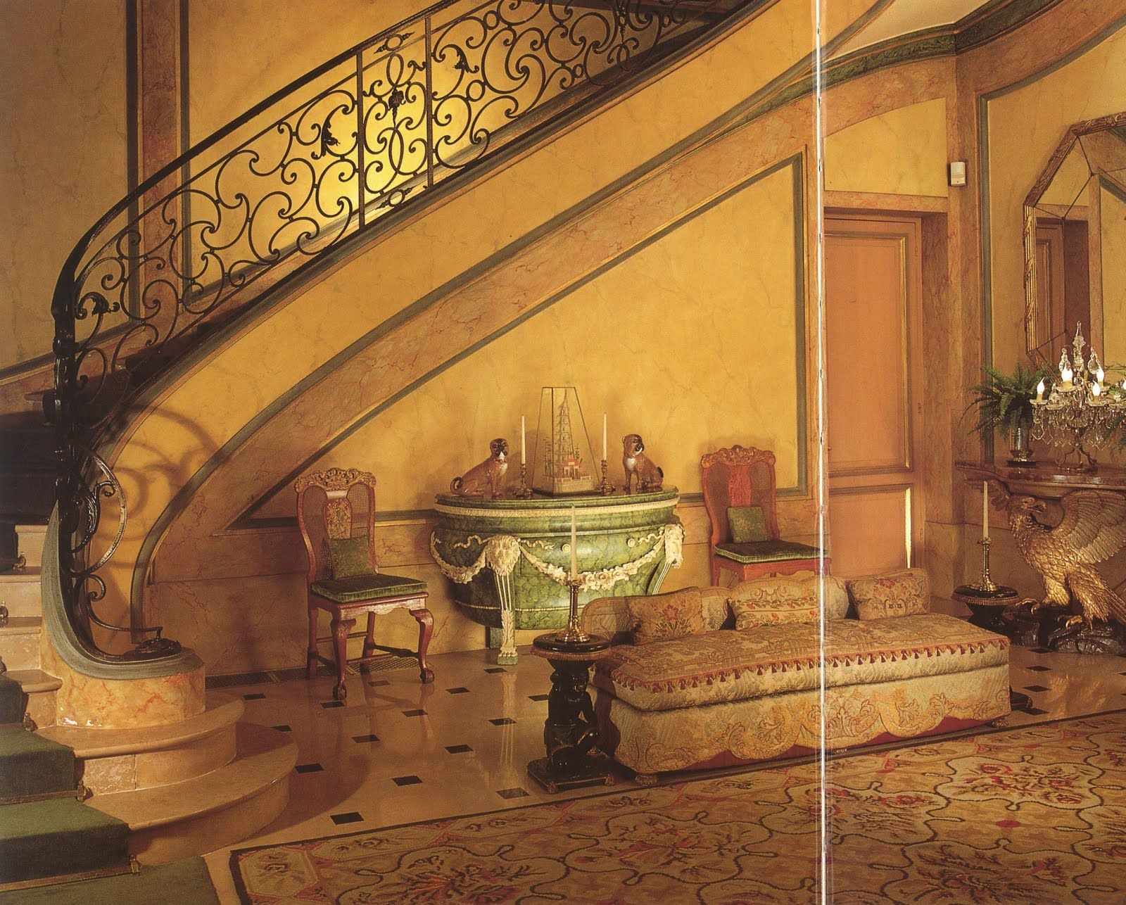Inside the Duke and Duchess of Windsor\'s Bois de Boulogne Villa. | A ...