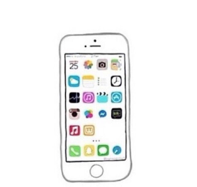 Iphone tumblr pinterest iphone for Mobile tv dwg