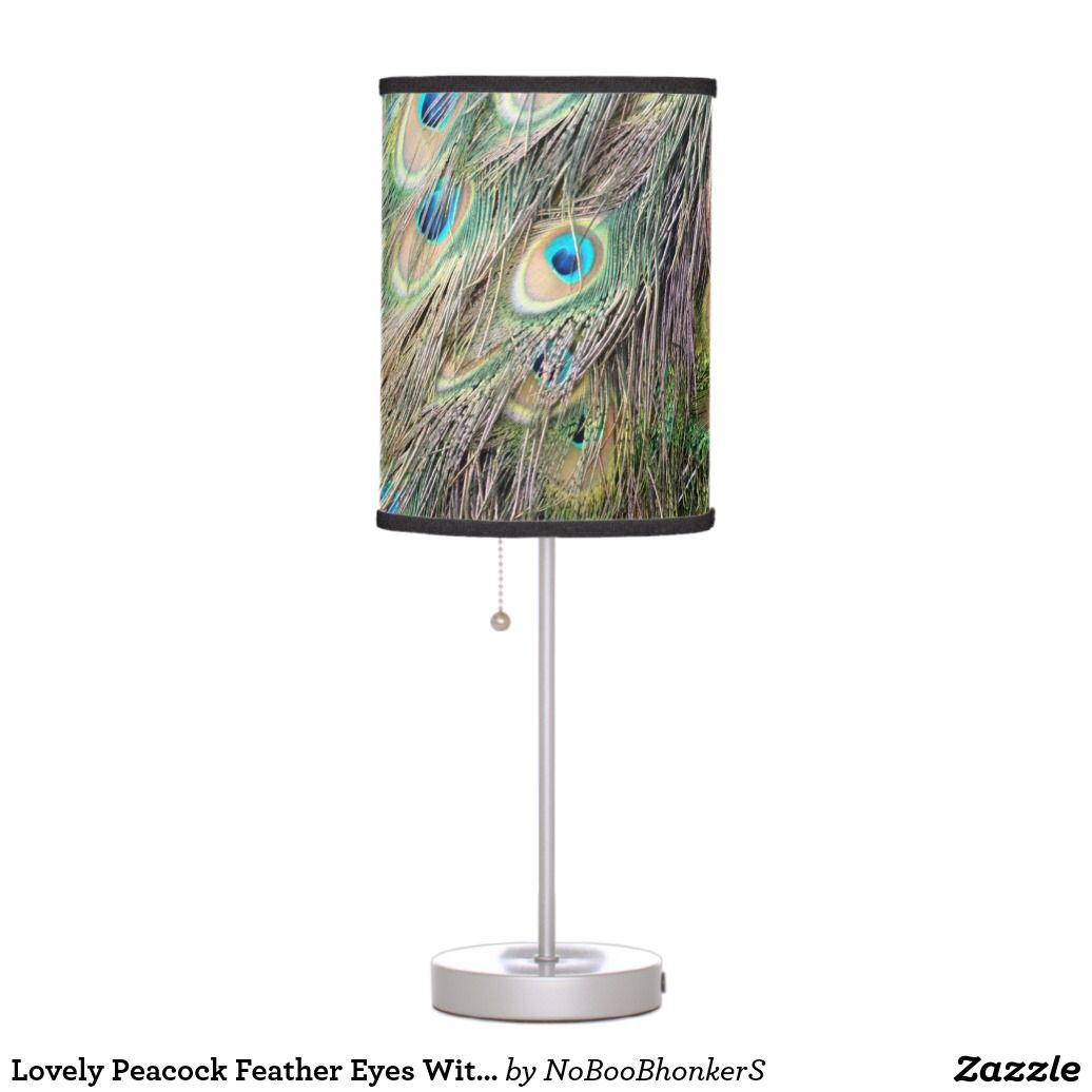 Peacock Lamp | Zazzle