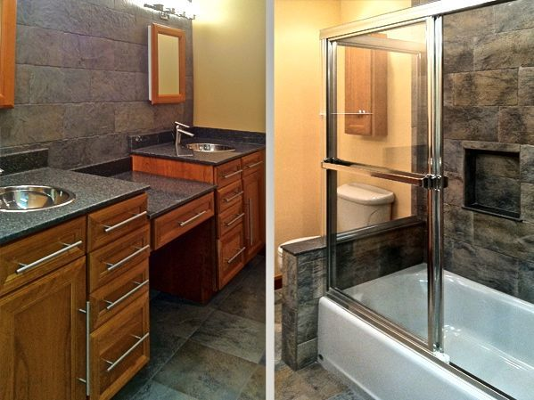 Photos  Bathroom Remodeling  Metropolitan Bath & Tile  Bathroom New When Remodeling Bathroom Where To Start 2018
