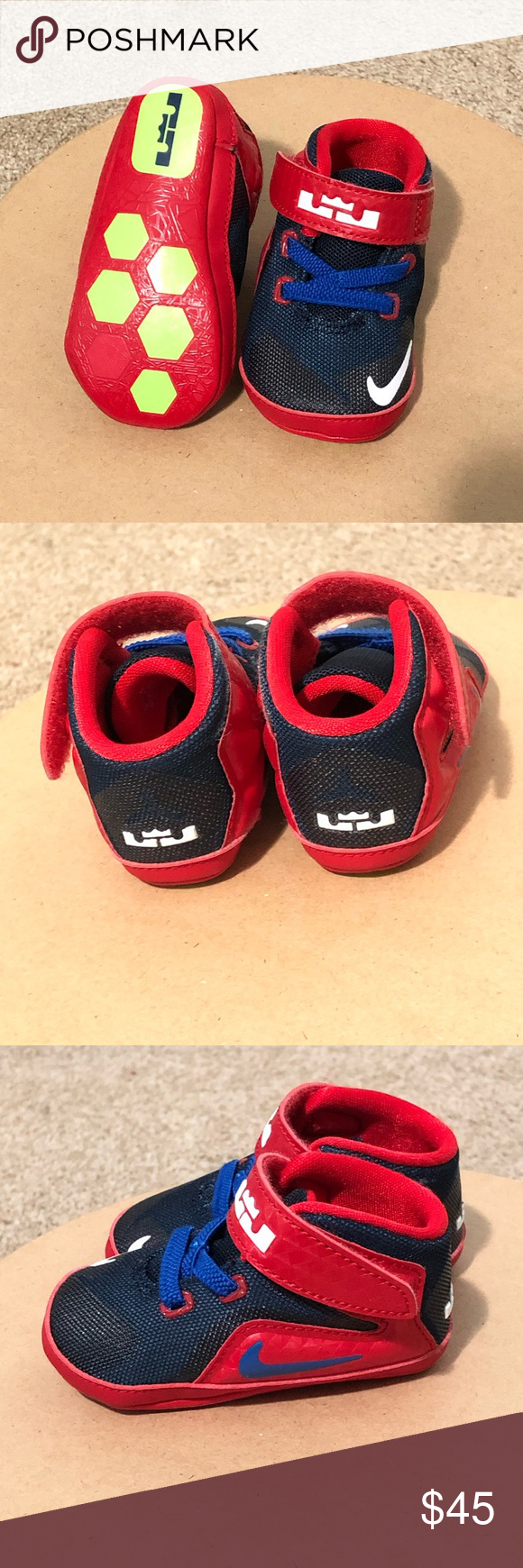 50e16d2d251e1 Infant Nike Lebron s XII Infant Nike Lebron tennis shoes barely worn. Size  3. Have Box! Nike Shoes Baby   Walker