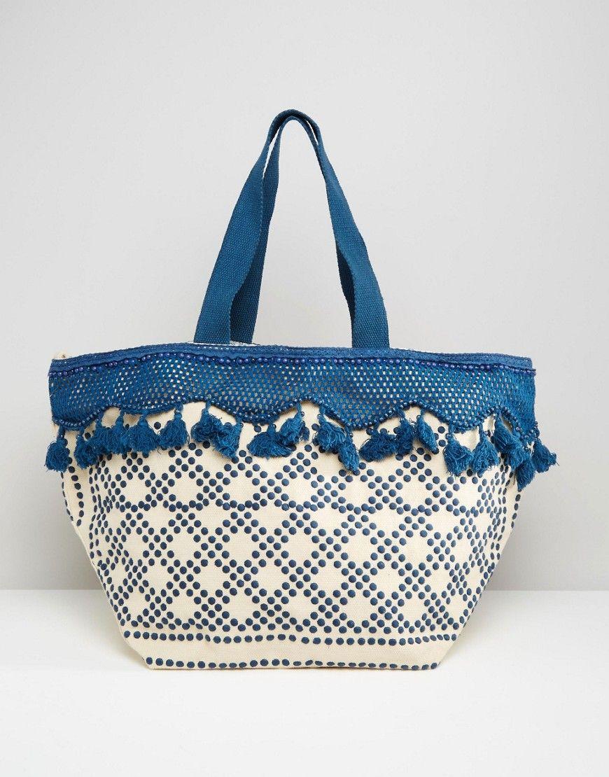 Mango Tassel Beach Bag | Summer Fun Clothes! | Pinterest | Tassels