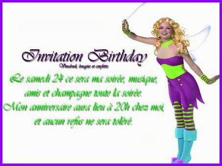 Nice Carte D Invitation Anniversaire Gratuite A Imprimer Pour Adulte