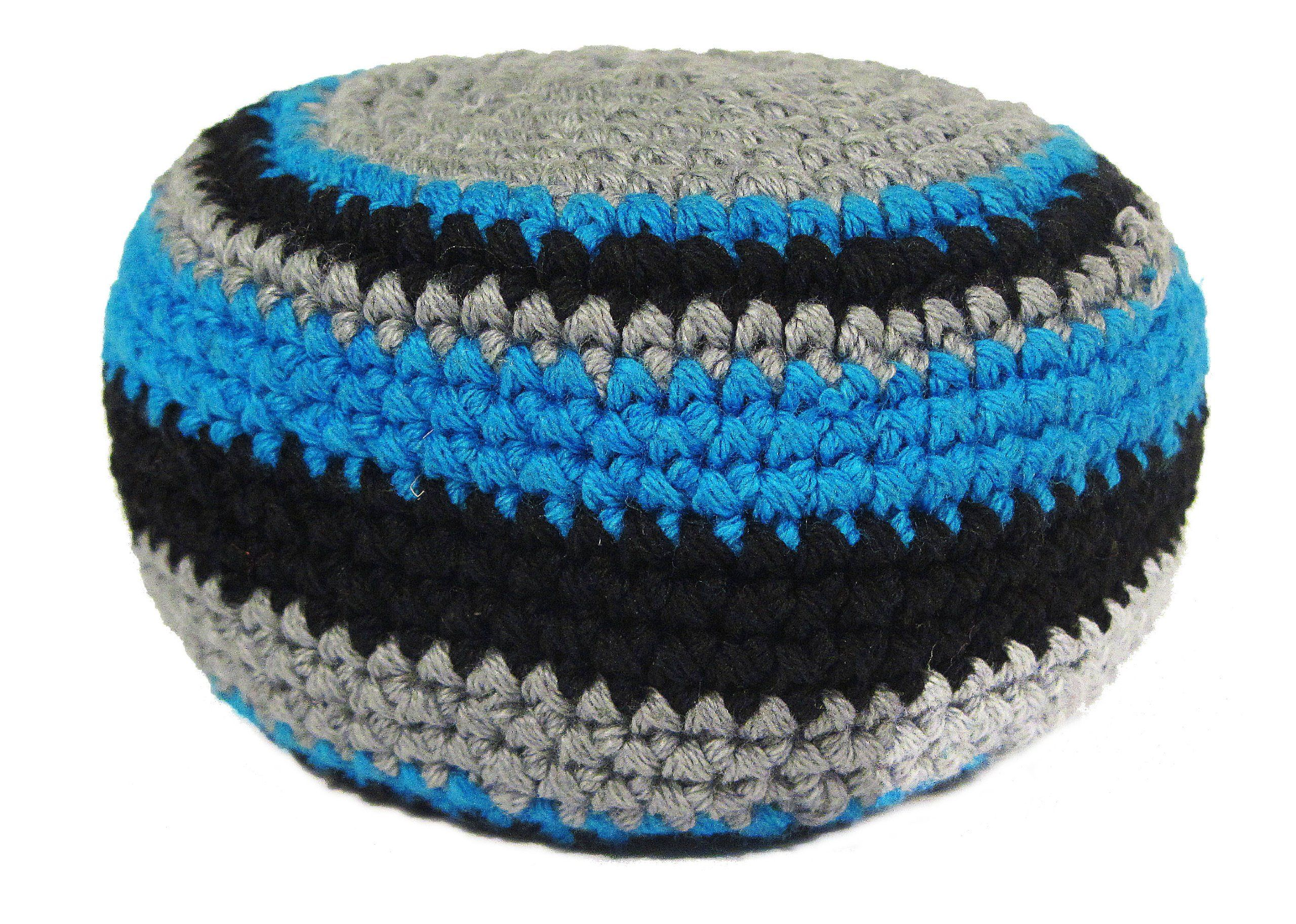 Hacky Sack Black N Blue. This Hacky Sack is made by Fair