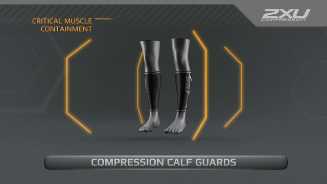 2XU Compression Calf Guards. See how you can train smarter, perform stronger and recover faster with 2XU Compression.