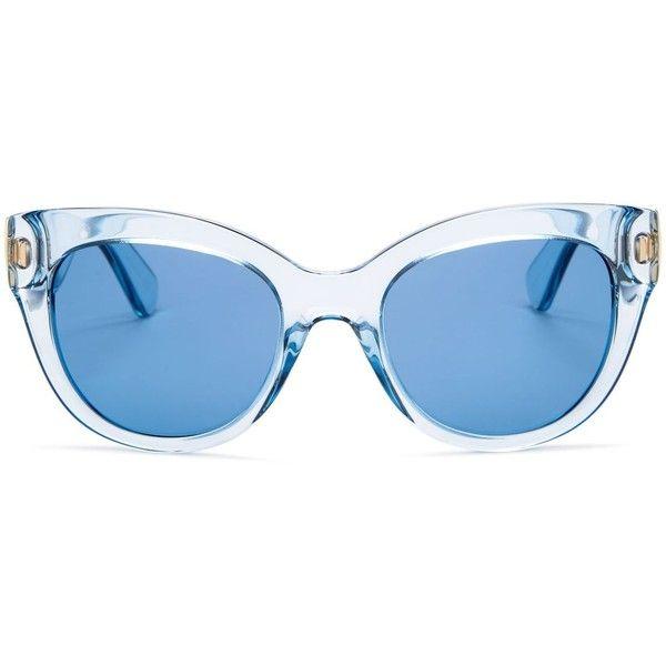 kate spade new york Sharlotte Cat Eye Sunglasses, 52mm ($190
