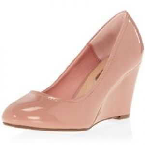 Dorothy Perkins  Pink mid wedge courts