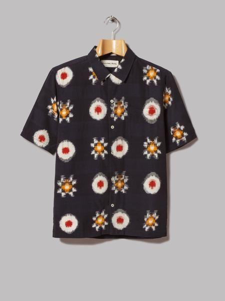 721e277dbf Universal Works Road Shirt (Indigo Indigo Ikat)   Lookin Nippon ...