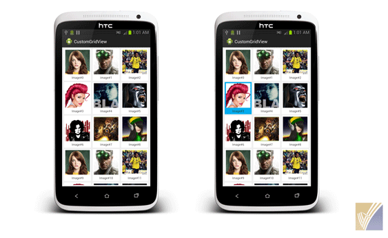 Android Gridview Tutorial Android Image Gallery Javatechig Android Tutorials Android Android Image